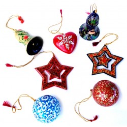 Christmas Tree Papier Mache Ornament Special