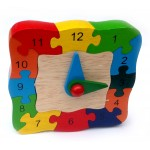 Puzzle - Clock - Educational Toy