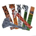 Bookmark - Leather w/ animal motif