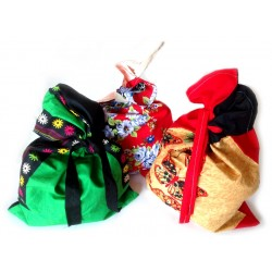 Gift Bags - Fabric - Set of 5