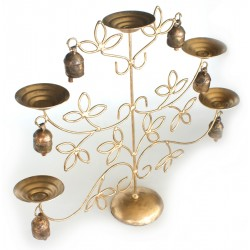 Candle Holder - Candle Tree with Bells