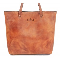 Tote: The Rosa - Ethical Leather
