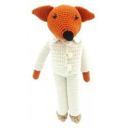 Fox - Crocheted
