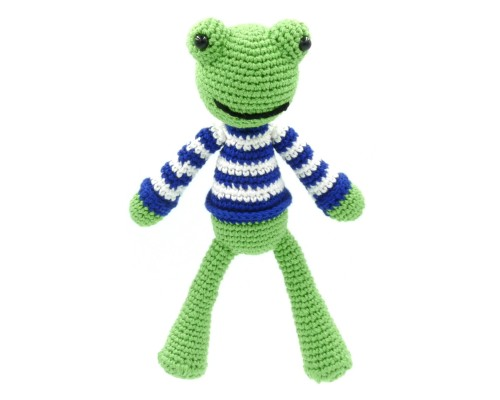 Frog - Crocheted