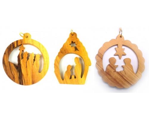 Olive Wood Decorations