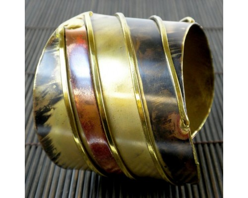 Cuff Brass and Copper - Serenity