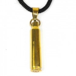 Pendant on Cord - Bullet Shell