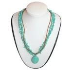 Necklace Pendant - Amanda - Turquoise