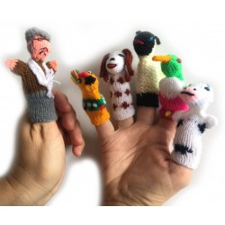 Finger Puppets - Old MacDonald Set