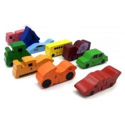 Vehicle Set of 10