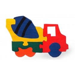 Puzzle - Vehicles - set of 4