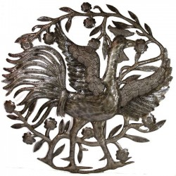 Rooster - Metal Art