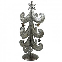 Christmas Tree Sculpture - Metal Art