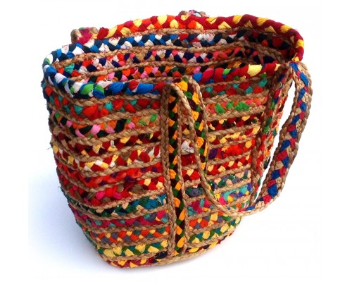 Basket - Chindi Blend Large