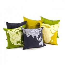 World Cushion Covers (set of 3)