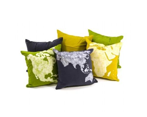 World Cushion Covers (set of 3)