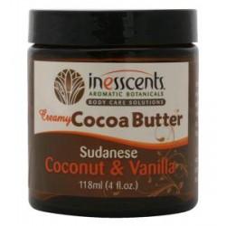 Organic Cocoa Butter - Sudanese coconut & vanilla