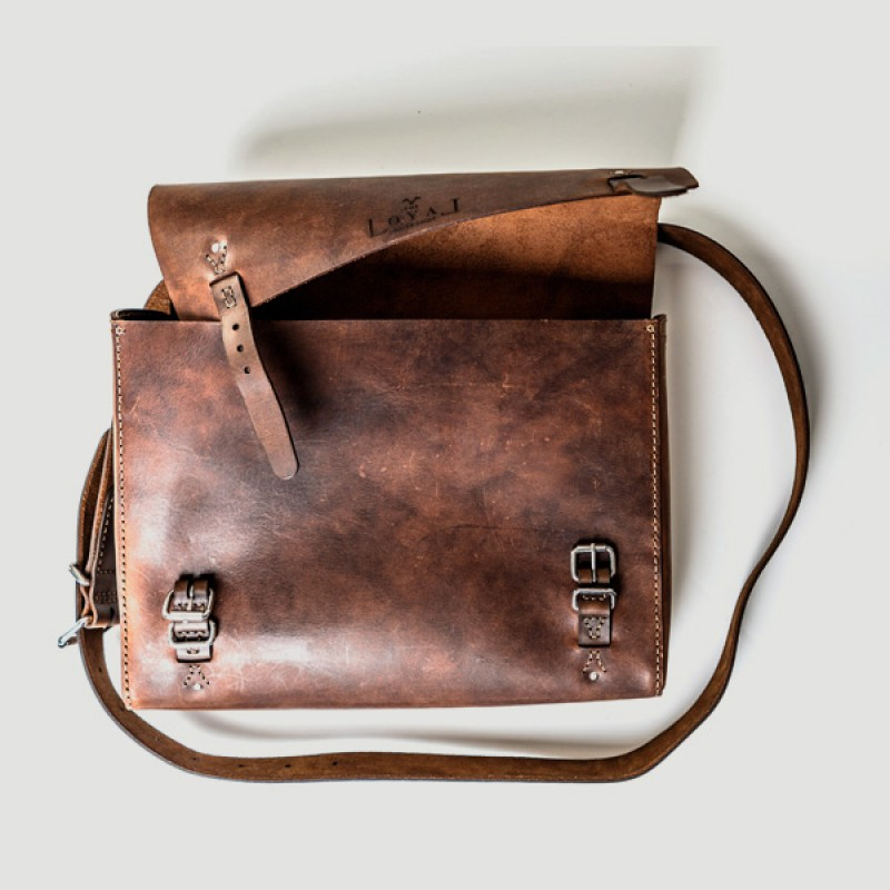 Satchel: The Goodstead - Ethical Leather - Loyal Fair Trade Store