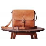 Satchel: The Companion Tan - Ethical Leather