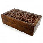 Flower Box - Carved Sheesham Wood