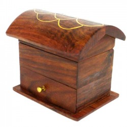 Chest - Tiny Carved with Drawer