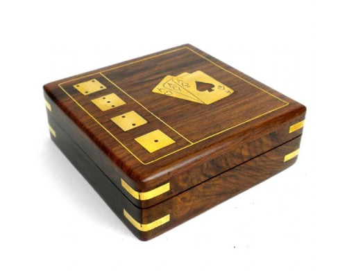 Card Box with Cards and Dice