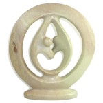 Lovers Embrace - Natural Stone - 20cm