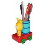 Pen Stand - Wood - Giraffe