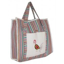 Baby Gear Bag - Kantha Motif