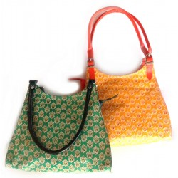 Hand Bag - Sanganeer - Embossed Leather