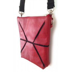 Cross Body Bag - Finished Leather