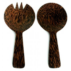Serving Set - Palm Wood
